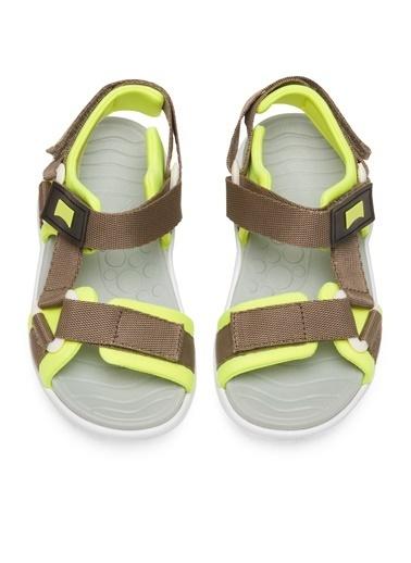 Camper Wous Kids Sandalet Gri